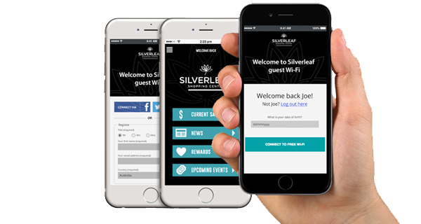 guest wifi registration pages on mobile devices